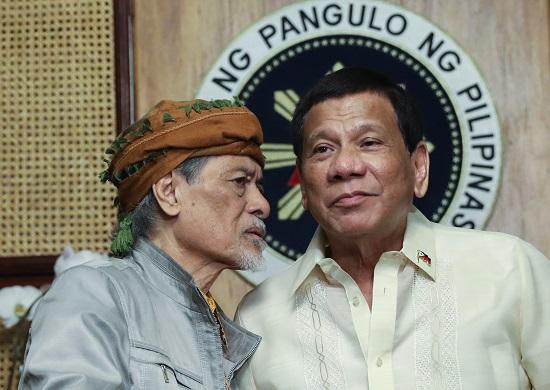 President Duterte, The Mouthpiece Of The Terrorist Nur Misuari