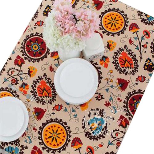 Flower Pattern Table Cloth