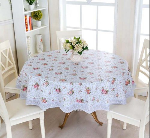 Ships from Hong Kong. This table cloth is elegant and comfortable. This tablecloth is easy to clean