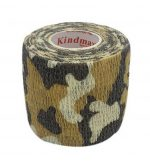 3 Rolls 2 Inches X 5 Yards Elastic Self Adhesive Bandages For Sports, Brown Camo-GM-SPO3762721-ZARA03471