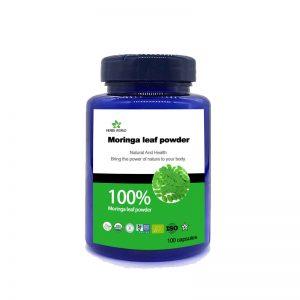 Natural Moringa leaf powder 100pcs/bottle 100% Natural Moringa leaf powder