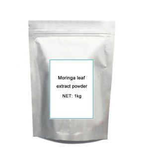 1kg Natural Organic Moringa leaf pow-der green pow-der 80 mesh Free shipping