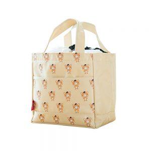 (Khaki)2Pcs WaterProof Large Capacity Lunch Bag/Bags For Children