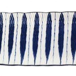[A] Ceramic Rectangle Sushi Plate Dessert Plate Sushi Long Dish