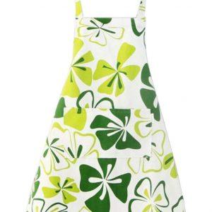 Flower Kitchen Apron Art Works Bib Aprons with Pocket