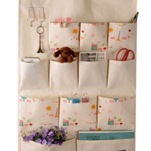 [12 Pockets-Nature] Hanging Storage Bag