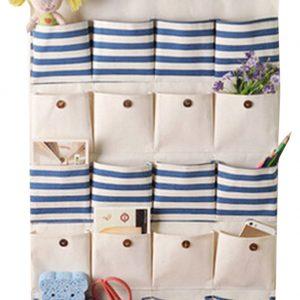 [20 Pockets-Nature] Hanging Storage Bag