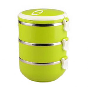 2.1L Creative Lunch Box Stainless Steel Sealed Bento Box