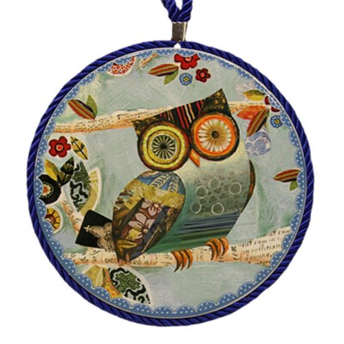 (6.7 Inch) Kitchen Tool: Potholder Round Dish Mat Non Slip Bowl Mat Spoon Rest