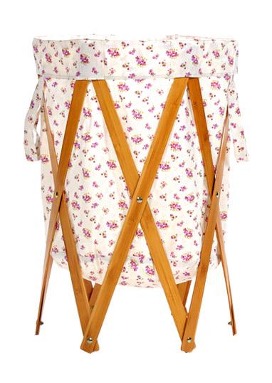 Floret-Laundry Basket Folding Creative Hamper Large Storage Organizer BLH#23