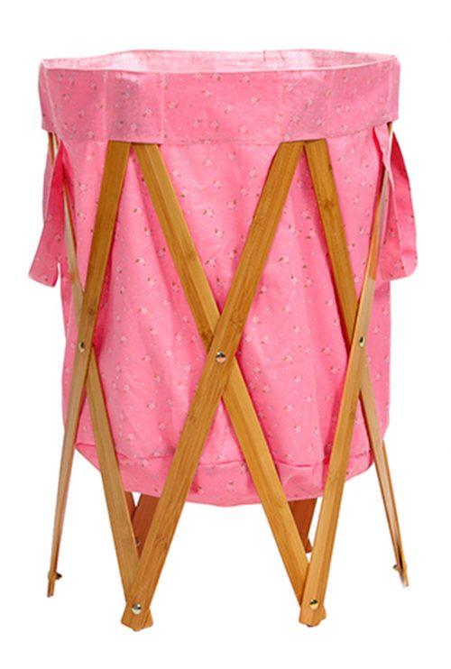 Floret-Laundry Basket Folding Creative Hamper Large Storage Organizer BLH#24