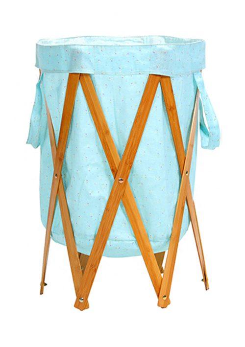 Floret-Laundry Basket Folding Creative Hamper Large Storage Organizer BLH#26