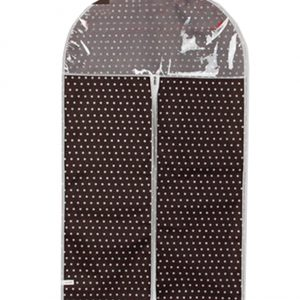"""Set of 3 Storage Garment Shoulder Covers Suit Dust Covers Hanging Coat Pockets 17.71""""x27.55"""""""