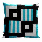 Square Pillow Cover Cushion Case Handmade Pillowcase Hidden Zipper Closure-BC-HOM-ONIQ0055-ELSA-CELI