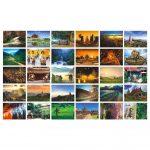 Beautiful Travel Scenery 30 PCS Artistic Retro Postcards-Chiang Mai-GJ-OFF1069672-ALICE02065