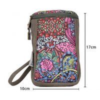 Practical Canvas Bag Zipper Storage Bag Gift Coin Purse Vintage Fabrics Wallet-PS-OFF490841011-SUE00681
