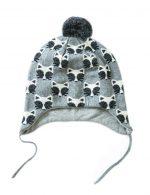 Warm Hat Knitted Hat Plus Velvet Ear Protection Hat Little Fox Pattern-PS-BAB166873011-SUE00274