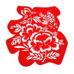 Creative Beautiful Hollow Lucky Character Delicate Chinese Paper Cut Decoration-PS-HOM12898111-ELA00337