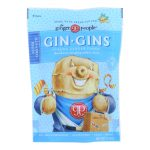 Ginger People – Gin Gins Ginger Candy – The Traveler's Candy – Case of 12 – 3 oz.-2257285