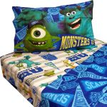 10 Disney Monsters Inc Twin Bed Sheet Sets Monster University Pennant Bedding Accessories-05PA-1-2-M13-04