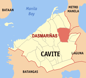 Dasmarinas city map locator.png