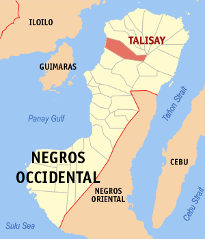 Talisay negros occidental map locator.png