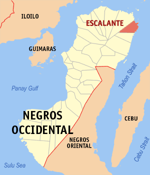 Escalante negros occidental map locator.png