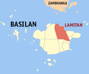 Lamitan basilan map locator.png