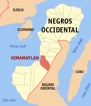 Himamaylan negros occidental map locator.png