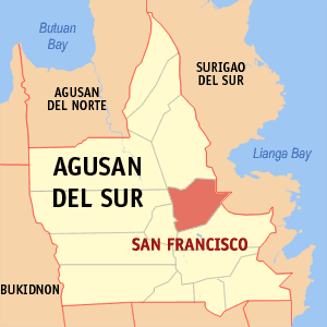San francisco agusan del sur map locator.png