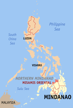 Misamis oriental philippines map locator.png