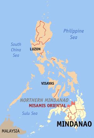Cagayan Philippines Map.Cagayan De Oro City Misamis Oriental Philippines Philippines