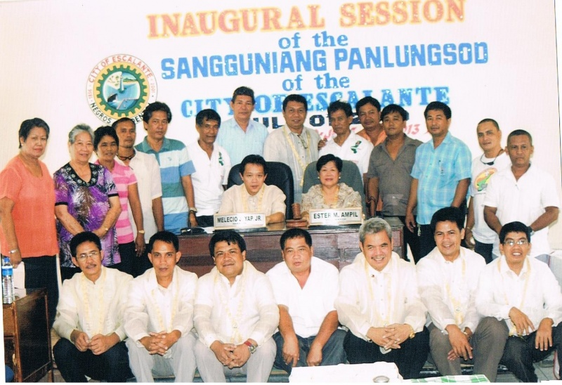 File:Inaugural Session of the Sangguniang Panlungsod of the City of Escalante July 2010 01.jpg