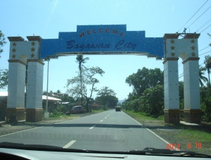 Bayawan city welcome sign.JPG