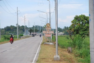 Zamboanga City Talisayan Welcome Sign.JPG
