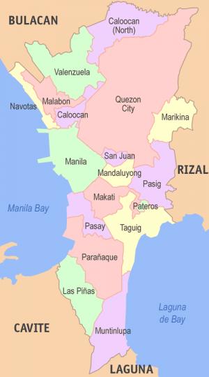 Marikina city philippines universal stewardship metro manila map 1g stopboris Choice Image