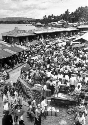 Marawi city open market 1948.jpg