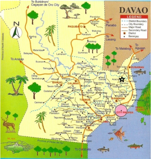 Acacia davao city map.png