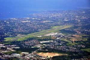 Davao International Airport Runway (aerial view), Davao City, Philippines.jpg