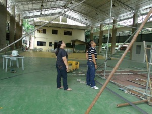 Agsungot DALMACIO BONTILAO SPORTS COMPLEX under renovation 2013.jpg