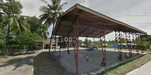 Pamucutan Barangay Hall, covered court and wellness center, pamucutan, zamboanga city.JPG